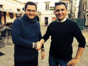 Siegi Fritz übergibt an Mustafa Durmus